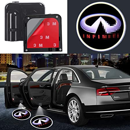 Wireless Courtesy Ghost Shadow Door Lights Welcome Lamp Fit Infiniti Cars 2PCS Car Door Light Logo Projector Led For Infiniti
