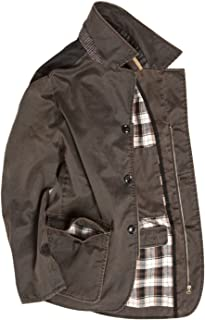 Vedoneire Men's Vintage Wax Blazer (3057) Brown Coat Jacket Waxed