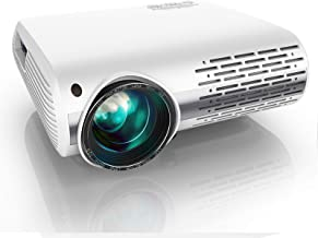 YABER Y30 Native 1080P Projector 7000 Lux Upgrade Full HD Video Projector 1920 x 1080, ±50° 4D Keystone Correction Support...