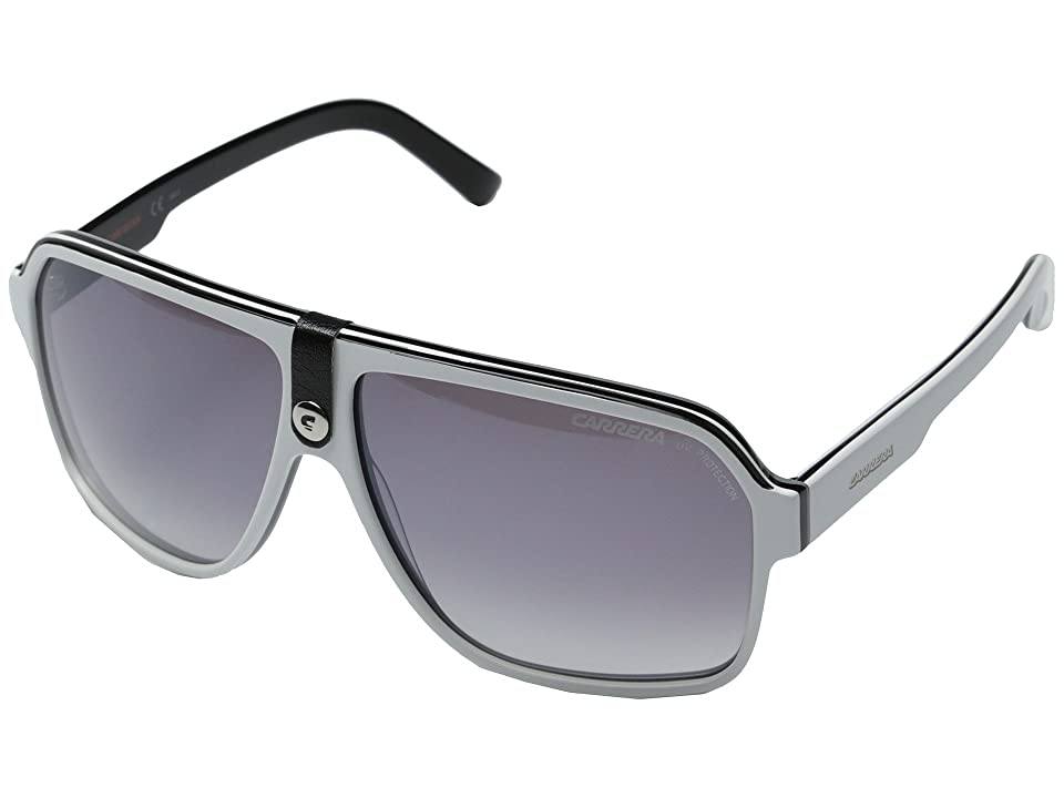 Carrera Carrera 33/S (Black Crystal Gray/Dark Gray Gradient) Fashion Sunglasses