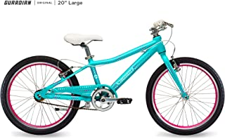 Guardian Kids Bikes Original. 16/20/24 Inch, Multiple Colors for Boys/Girls. Safer Brake System for Kids. Lightweight Aluminum Construction. Easy Assembly. ASO SharkTank.