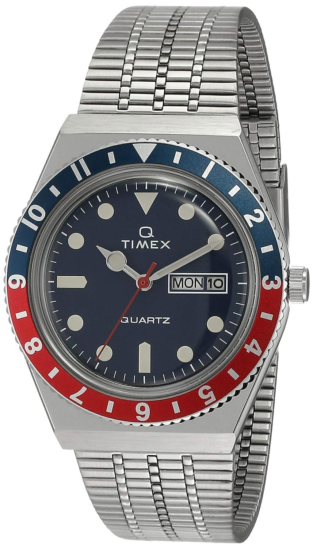 Timex Q Reissue 1979 Digital Blue Dial Men's Watch TW2T80700 Wrist Watches