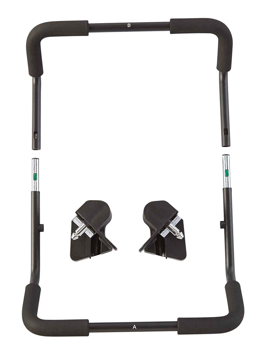 Baby Jogger Chicco/Peg Pergo Car Seat Adapters for Summit X3 Stroller, Black