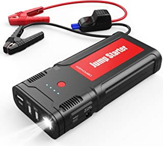 DBPOWER 2500A 21800mAh Portable Car Jump Starter for up to 8.0L Gas/6.5L Diesel Engines, Auto Battery Booster, Portable Power Pack with Smart Charging Port