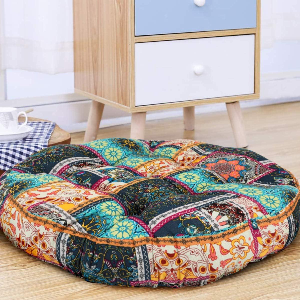 Superlatite Bohemian Thicken Futon Seating Floor Mat Cushion Cove Yoga Superior