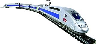 Mehano T111 - Tren eléctrico TGV POS de alta velocidad con paisaje, escala H0