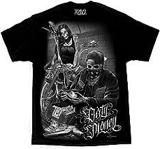 Bonnie & Clyde Dirty Money David Gonzales Art DGA Ride Or Die Men's T Shirt XX-Large Black