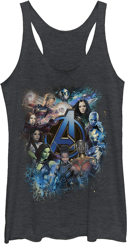 Women's Marvel Avengers: Endgame Heroine Tank Racerback Limited Over item handling ☆ time cheap sale T Poster