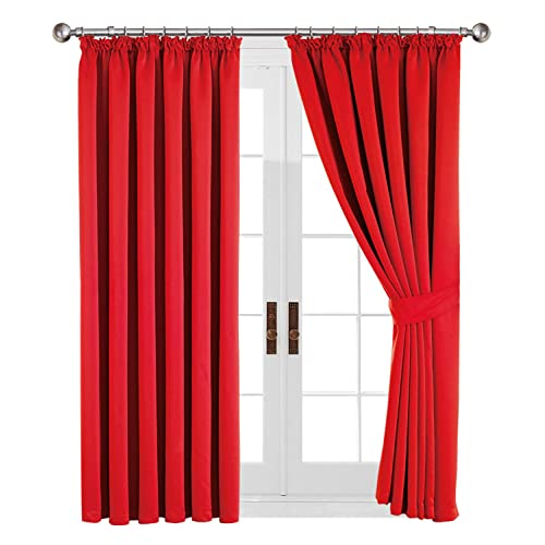 Home, Furniture & Diy Tiebacks Pair Brand New United Oxford Check Lined Curtains
