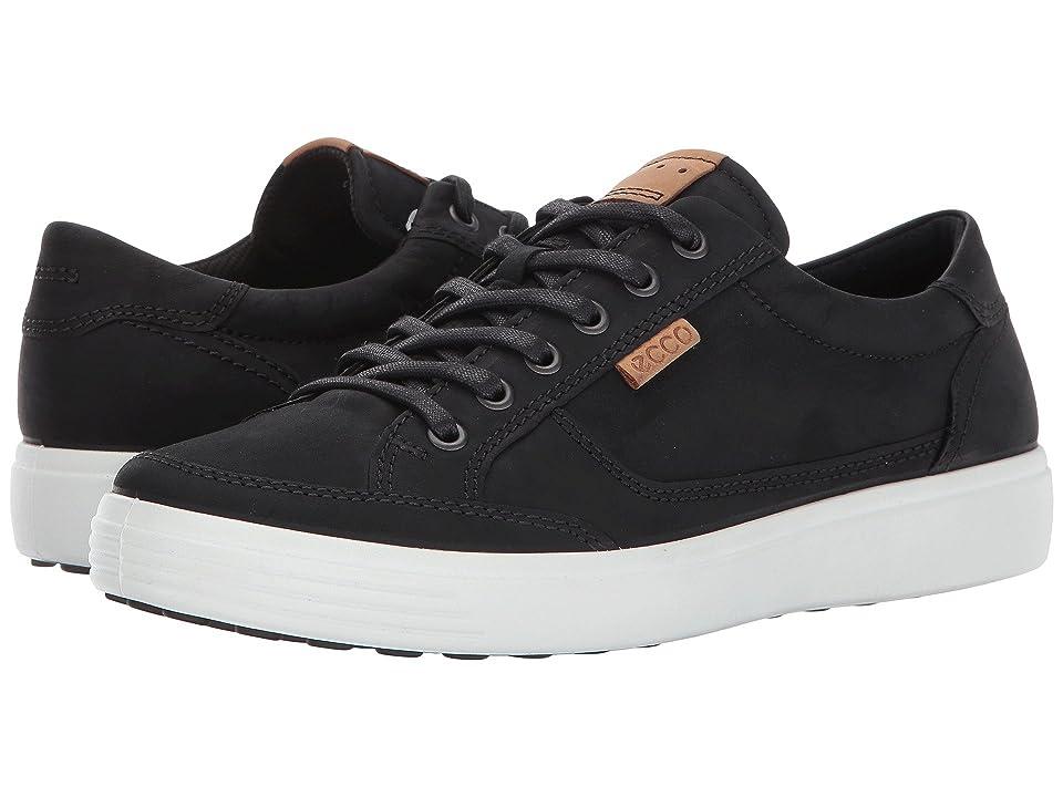 ECCO Soft Retro Sneaker (Black) Men