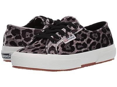 Superga 2750 Fanvelw (Grey Leopard) Women