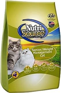 Nutri Source Senior Weight Management - Chicken & Rice - 16 lbs