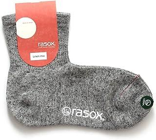 (ラソックス) rasox リネンメランジ ソックス 靴下 日本製 CA181LC10