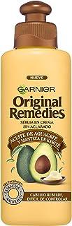 Garnier Original Remedies Aceite de aguacate y manteca de karité Tratamiento capilar Aceite en crema para pelo rebelde y e...
