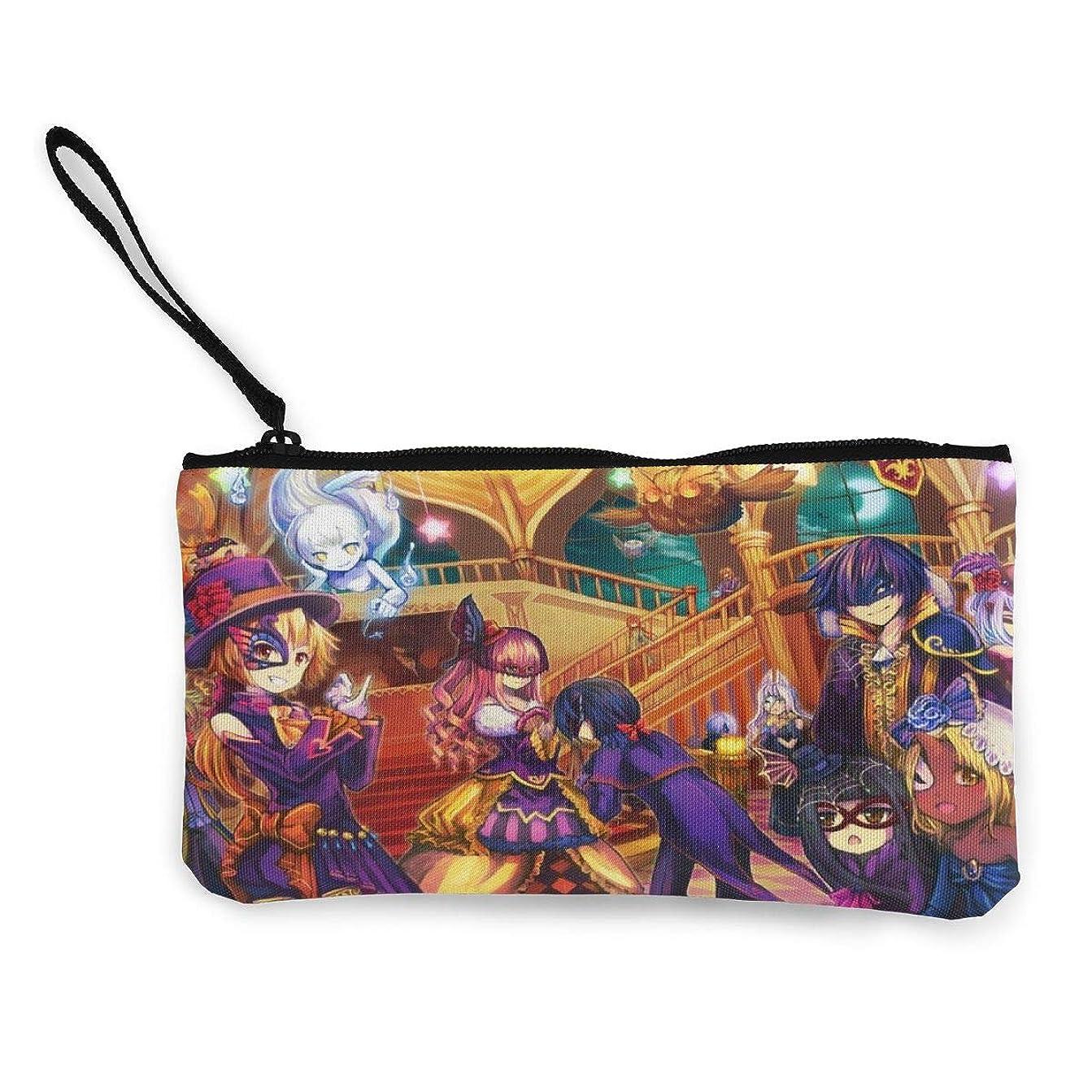 資格犬レジデンス財布 キャンバスコインポケット ハロウィン魔女 小さなオブジェクトを保存する ストレージライティングツール、描画定規、ペン、ステッカー、化粧品、口紅、マスカラ、小さな収納キャンバスバッグ