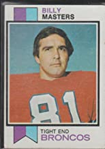 1973 Topps Billy Masters Broncos Football Card #242