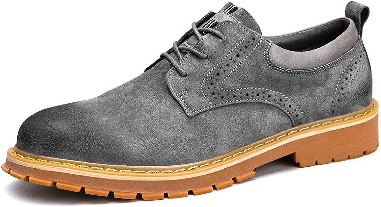 Autumn And Winter Korean Version Leather Bulk shoes color Retro Tooling shoes England Men Casual shoes