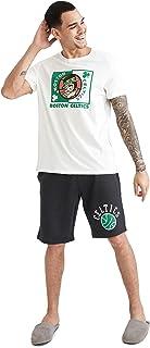 NBA Lisanslı Boston Celtics Baskılı Slim Fit Pijama Takımı
