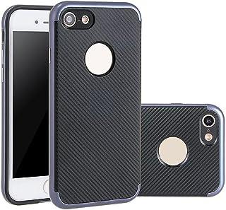 d0db37bfdf1 Funda Phone 6 Plus/6s Plus , Aohro Delgado Carcasa Fibra de Carbono Suave  Posterior