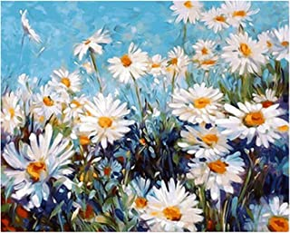 DIY Digital Painting Oil Painting Kits on Canvas Paint By Numbers for Adults Nature Landscape Without Frames,Safe Reliable...