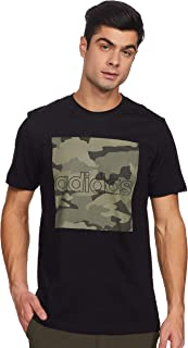 adidas mens M CAMO BOX T SHIRT