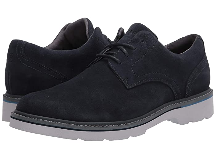 Rockport  Charlee Plain Toe (Navy Suede) Mens Shoes