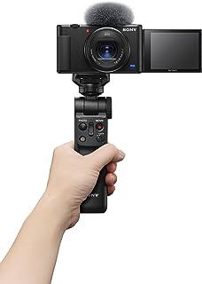 Sony Digital Vlog Camera ZV 1 (Compact, Video Eye AF, Flip Screen, in-Built Microphone, Bluetooth Shooting Grip, 4K Vloggi...