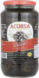 Acorsa Sliced Black Olives - 950 gm