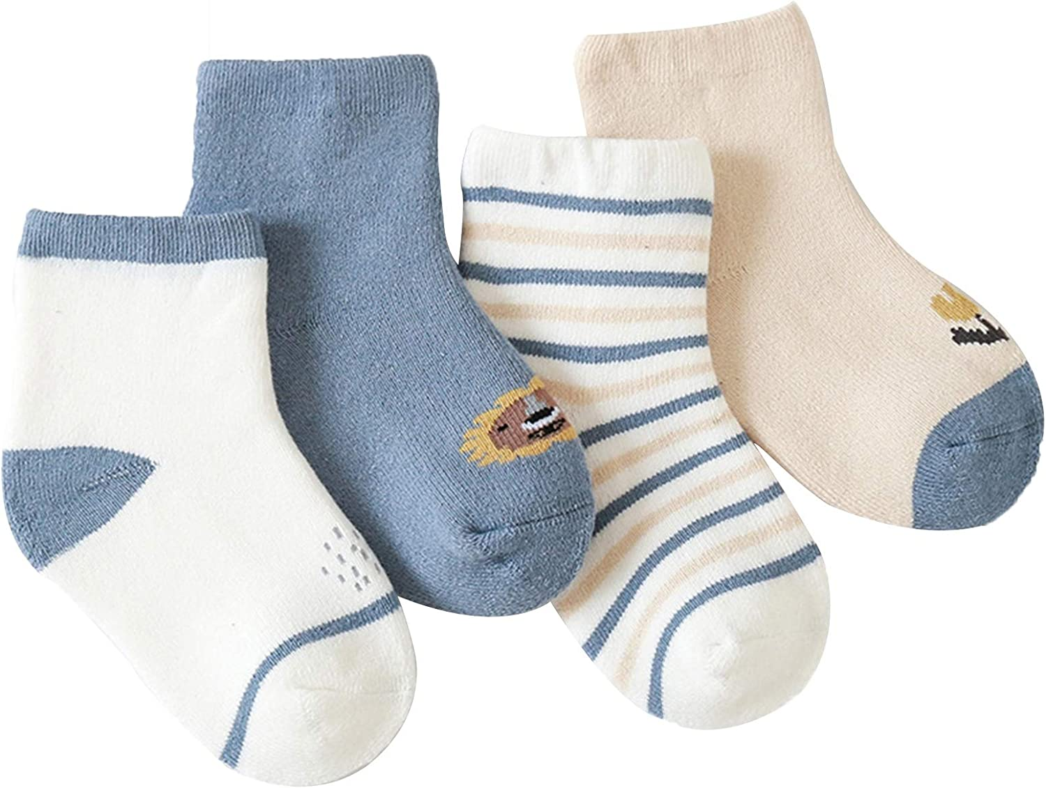 WUQIANG Floor Socks 4 Pairs of Warm Winter f Children Sale Challenge the lowest price of Japan Special Price Crew