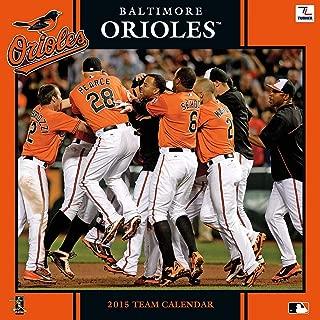 Baltimore Orioles 2015 Team Calendar