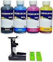 ?it recarga de cartucho HP 302, 302 XL negro y color, tinta Impresion Continua de alta calidad pesada + rellenar clips