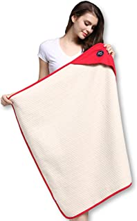 """Protective Belly Pregnancy Baby Blanket, Organic, Anti-Radiation, Red, 35""""x30"""