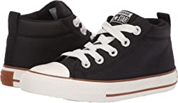 Chuck Taylor All Star Street Pinstripe - Mid (Little Kid/Big Kid)