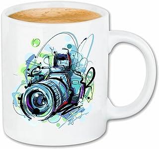 Taza para café Las cámaras Digitales cámara de la fotografía Modelo Retro Cámaras Digitales fotógrafo de la cámara SLR FOTOSTUDIO la cámara subacuática Caso Duro de la Cubierta Teléfono Cubiertas Cub