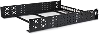 StarTech.com 2U Fixed 19-Inch Adjustable Depth Universal Server Rack Rails (UNIRAILS2U)