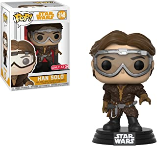 Funko Han Solo (Target Exclusive) POP! x Solo - A Star Wars Story Vinyl Figure + 1 Official Star Wars Trading Card Bundle [#248 / 26972]