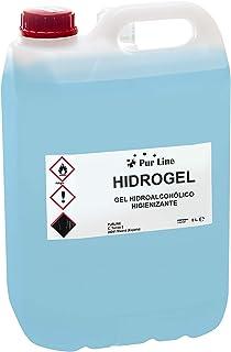 Garrafa 5L gel hidroalcohólico higienizante PURLINE