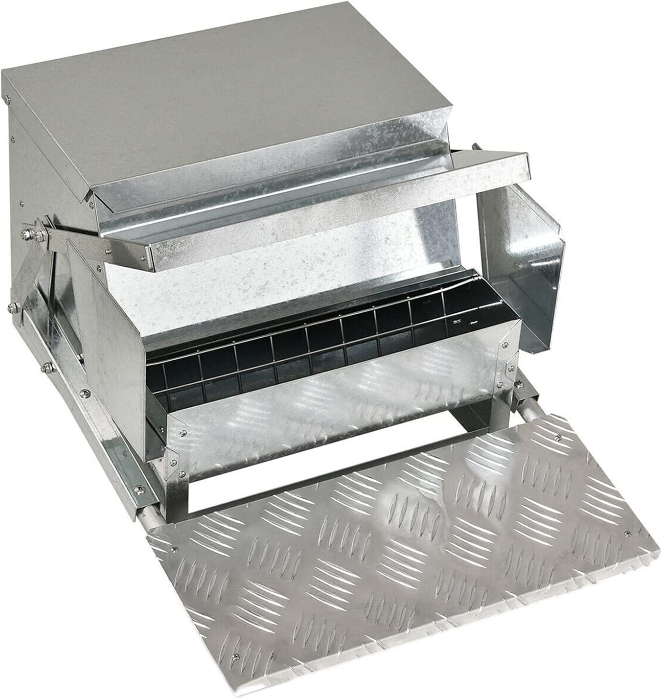 GXP Automatic Chicken Feeder Galvanized Poultry Sales results No. 1 Feeders Super Special SALE held 30 Steel