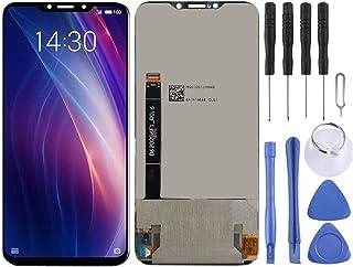 DONGYAO Skärmersättning pekskärm för Meizu LCD-skärm och digitaliserare full montering för Meizu X8