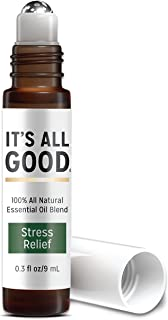It's All Good Stress Relief Essential Oil Blend In Fractionated Coconut Oil Roller Ball