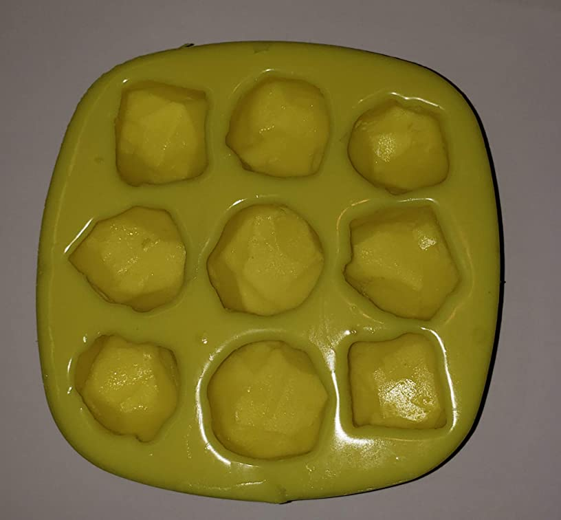 Small Lumps of Coal/Gemstones Soap & Candle Mold
