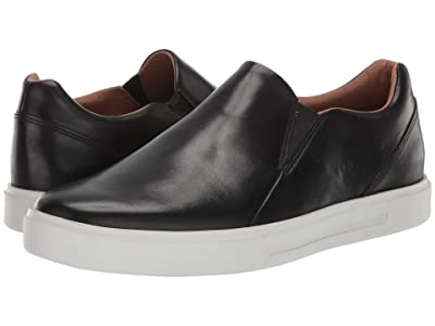 Clarks Un Costa Step (Black Leather) Men