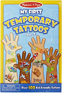 Melissa and Doug My First Temporary Tattoos 2946 Blue - Temporary Tattoos