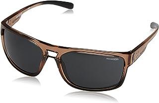 ARNETTE Men's An4239 Brapp Rectangular Sunglasses
