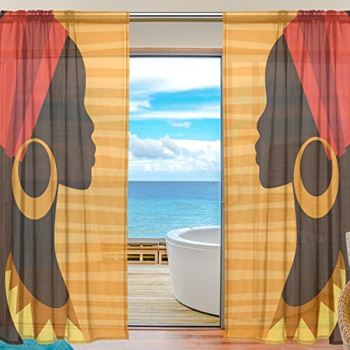 African Window Curtains Amazoncom