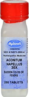Hylands Aconitum Napellus 30 X - 250 Tablets, Pack of 2