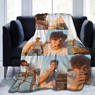 "Hope Wolrd Shawn Men-Des Ultra Soft Micro Fleece Throw Blanket Sofa Bed Blanket for Adults Kids 60"""" x50"