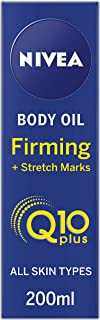 NIVEA Q10 Body Oil, Firming Plus Stretch Marks, 200 ml