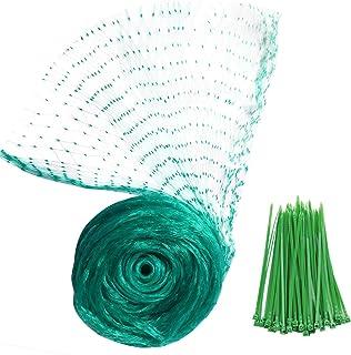 YHmal Bird Netting, 13 x 26 Ft Reusable Nylon Garden Netting with 0.4 Inch Square Mesh - Fruit Tree Netting Protect Plants...