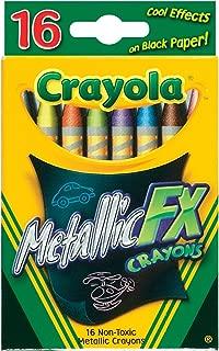 Crayola 16CT Metallic FX Crayons